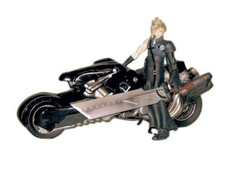 Final Fantasy VII Advent Children Cloud and Fenrir