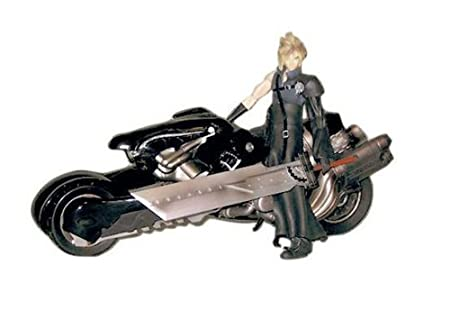 Figurine Final Fantasy 7 Advent Children Cloud & Fenrir Play arts PVC