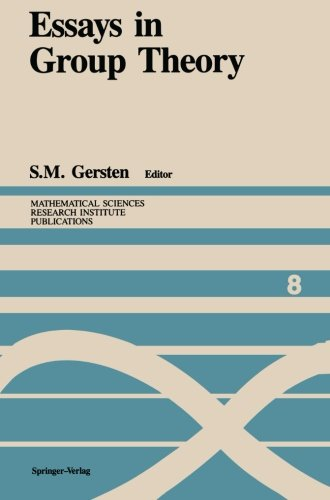 Essays in Group Theory (Mathematical Sciences Research Institute Publications)