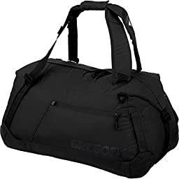 Gregory Mountain Products Stash Duffle Bag, Black, 115-Liter