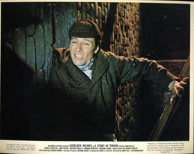 John Neville Movie Still From A Study In Terror