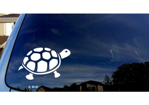 Tortoise Tropical Car Sticker Decal