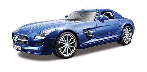 Maisto-36196-Modellauto-118-Mercedes-SLS-AMG-silber