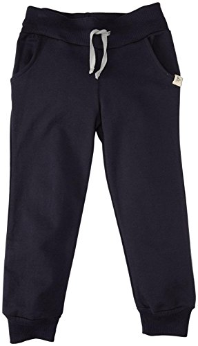 Burt's Bees Baby Little Boys' French Terry Pant (Toddler/Kid) - Midnight - 4 Toddler