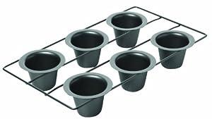 2X Chicago Metallic Non Stick 6-Cup Popover Pan
