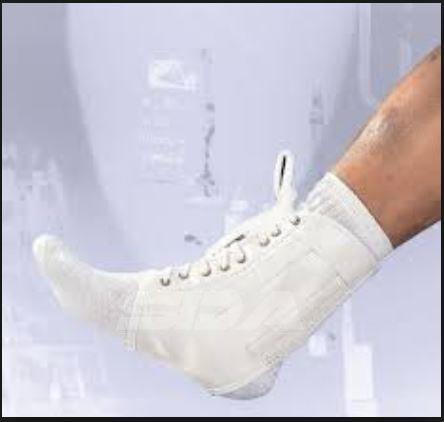 SDA Lace-up caviglia supporto e stabilizzatore con stecche a spirale da LP-Lesioni Sportive Schermo Guide-Calze-per evitare gravi problemi/debole, stiff, doloranti caviglie/Post chirurgia/Artrite Prevenire lesioni atrofia/Sport Brace
