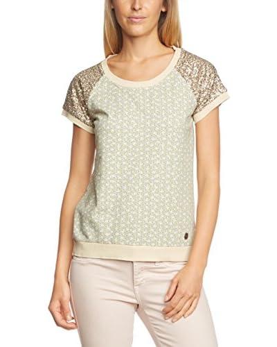 Napapijri T-Shirt Berena creme/bronze