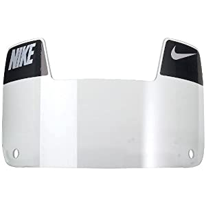 Nike Gridiron Eye Shield with Decals (Clear/White/Black)