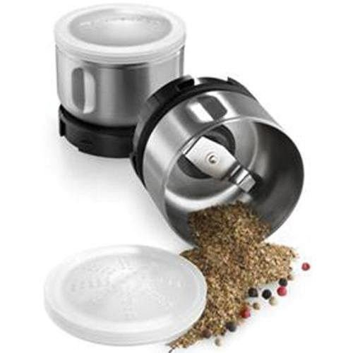 Kitchenaid Bcgsga Spice Grinder Accessory Kit(fits Bcg111 Models)stainless Steel