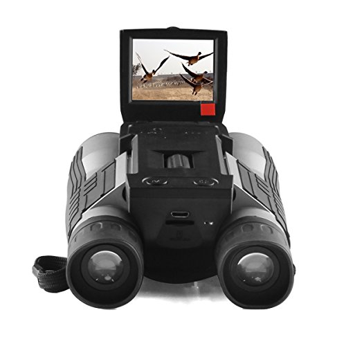 Gemtune FHD Fernglas Digitalkamera Teleskop Digital Camera Binoculars with Folding Prism
