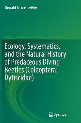 ecology-systematics-and-the-natural-history-of-predaceous-diving-beetles-coleoptera-dytiscidae