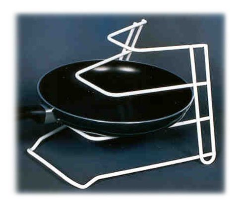 Frying Pan Storage Rack by Grayline