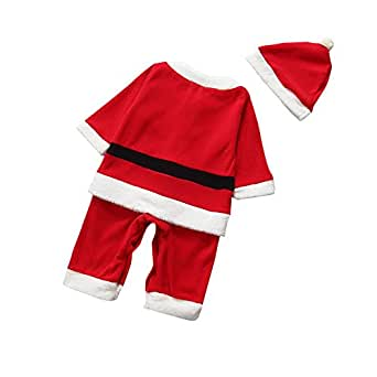AutumnFall® Newborn Boys Girls Koala Kids Infant Santa Claus Suit