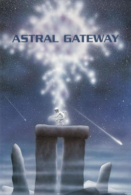 Astral Gateway Art Print Poster