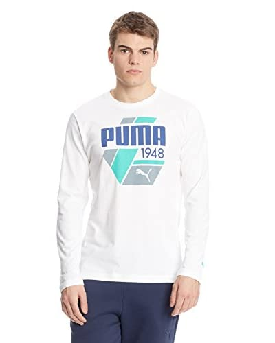 Puma Camiseta Manga Larga FUN S.Casual Logo LS Blanco