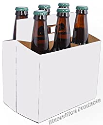 White Six Pack Beer Boxes - Case of 160