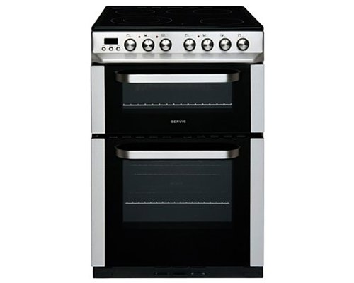 Servis DC60SS Freestanding Electric Oven