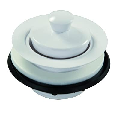 JR Products Plastic Strainer with Pop Stop Stopper