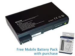 Dell Latitude CPM 166ST Battery 65Wh, 4400mAh with free Mobile Battery Pack