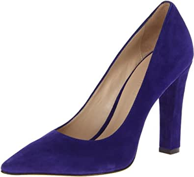 Elizabeth and James Women's E-Vino Pump,Blue,7 M US