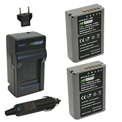 Wasabi Power Battery and Charger Kit for Olympus BLN-1 BCN-1 and Olympus OM-D EM-5