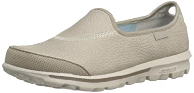 Skechers GO Walk Autumn, Women's Trainers, Natural, 4 UK