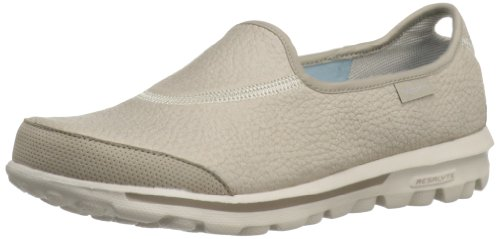 Skechers Performance Women's Go Walk Ultimate Walking Shoe,Natural,8.5 M US