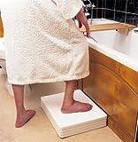 Langham Four Section Height Adjustable Bath / Shower Step Stable Safe Anti Slip