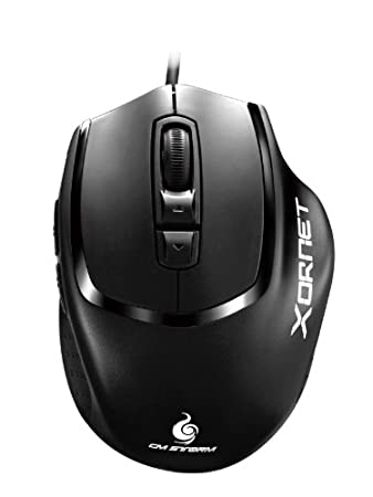 CM Storm Xornet - Gaming Mouse with 2000 DPI Sensor and Omron Micro Switches (SGM-2001-BLON1)