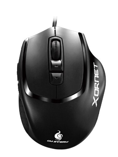 CM Storm Xornet - Gaming Mouse with 2000 DPI Optical Sensor and Omron Micro Switches