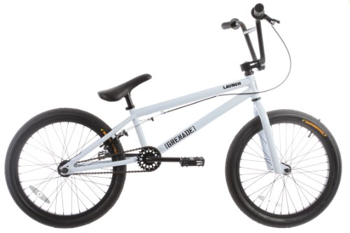 Grenade Launch Mens BMX Bike White 20