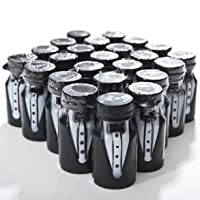 Tuxedo Bubble Bottles - Gay Wedding Planning