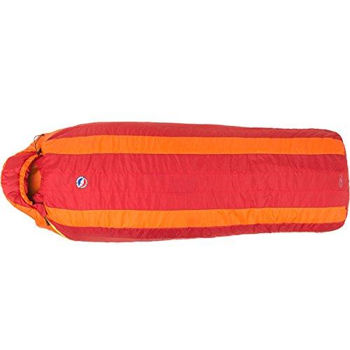 Big Agnes Encampment 15F Integrity Sleeping Bag - Long / Left Zip (Red / Orange)