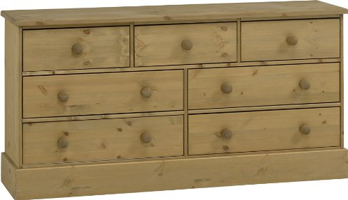 3 Plus 4 Wide-Drawer Chest