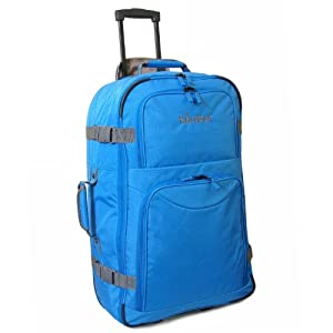 Karabar Blue Anamudi Extra Large Wheeled Cargo Bag