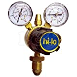 Single Stage Two Gauge Regulator - Acetylene - L&S Engineers