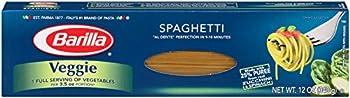 Barilla Veggie Pasta, Spaghetti, (Pack of 20)