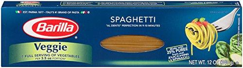 Barilla Veggie Pasta, Spaghetti, 12 Ounce (Pack of 20) (Veggie Spaghetti compare prices)