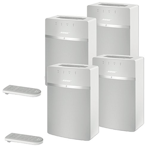Bose SoundTouch 10 Wireless Music System Bundle 4-Pack - White