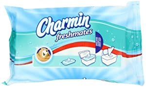 Charmin Freshmates Flushable Wipes 40 Count Refills; Pack of 12; 480 total Count