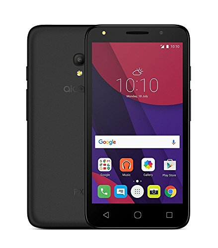ALCATEL Pixi 4-(5045D), Tempered Glass , Premium Real 2.5D 9H Anti-Fingerprints & Oil Stains Coating Hardness Screen Protector Guard For ALCATEL Pixi 4-(5045D)