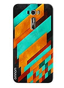 Omnam Colorful printed Pattern back cover for Zenfone 2 (ZE601KL)