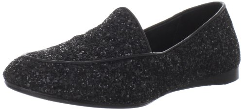 Donald J Pliner Women's Denny Loafer,Black,9.5 M US