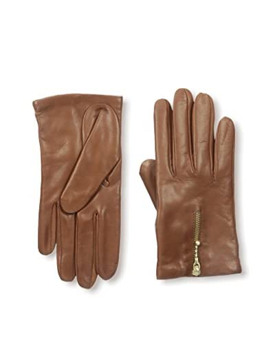 Portolano Women's Leather Glove with Zipper