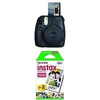 Fujifilm Instax Mini 8 Film Camera + Mini Film Twin Pack