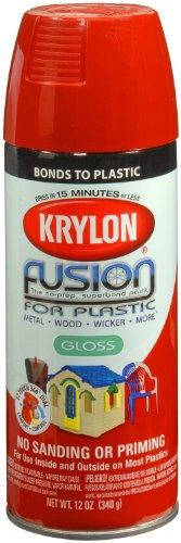 krylon k02328000 fusion for plastic aerosol spray paint. Black Bedroom Furniture Sets. Home Design Ideas