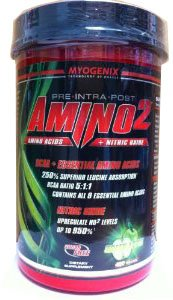 Myogenix Amino2 Green Apple 420 Grams Pre Intra Post Workout