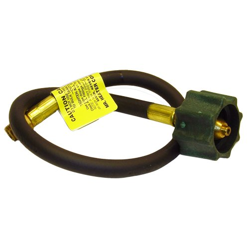 """Mr. Heater F271138-20 20"""" Propane Hose Assembly With 1/4"""" Male Pipe Thread Acme Nut"""