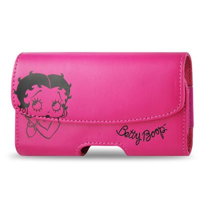 Apple Design Horizontal Pouch Dhp102A For Iphone 4 B11 - Retail Packaging - Dark Pink front-875147