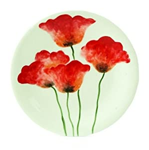 Fitz and Floyd Poppies Dinner Plate